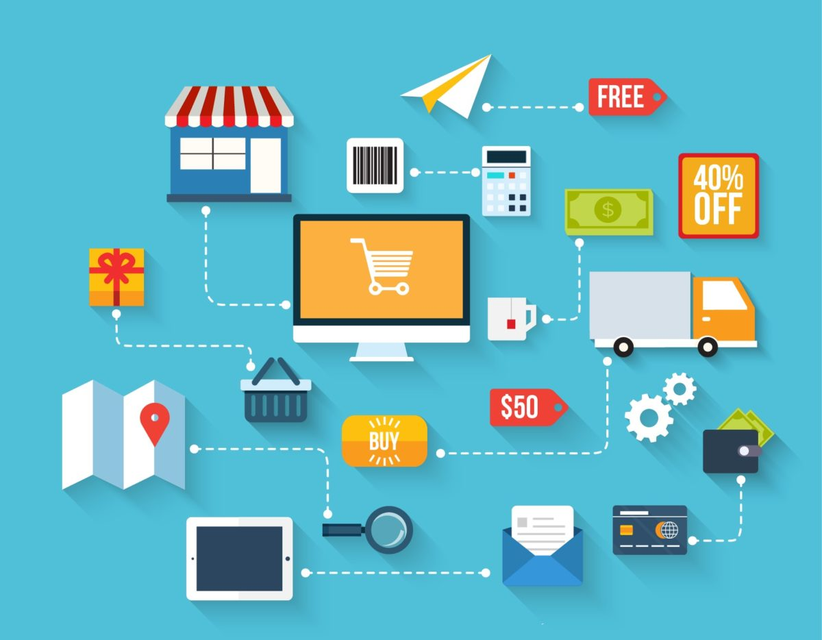 What are some of the benefits of beginning a retail business online only?