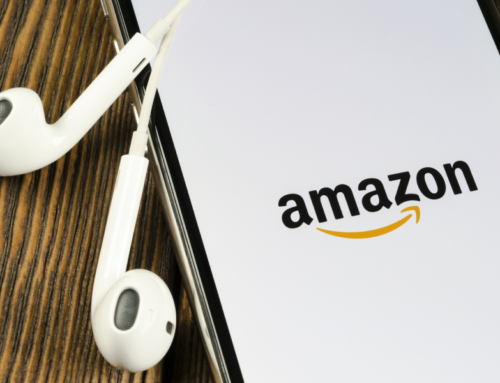 How do I invite a customer to leave feedback at Amazon after they have bought products?